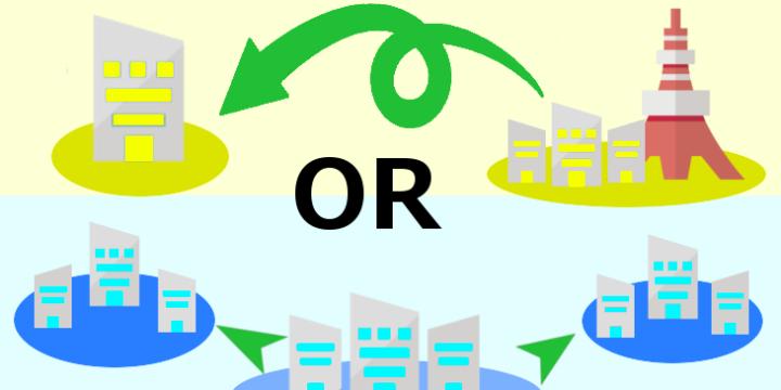 地方拠点強化税制の【拡充型】と【移転型】の違いを理解して最大25%の特別償却を得よう!