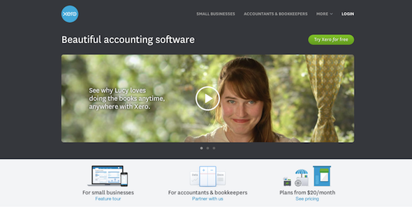 Accounting Software   Online Accounting   Bookkeeping Software   Xero