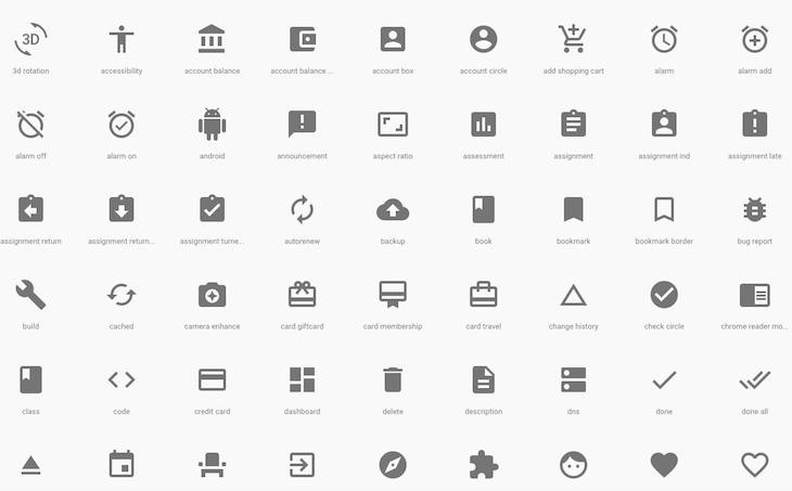 Google Material Icon