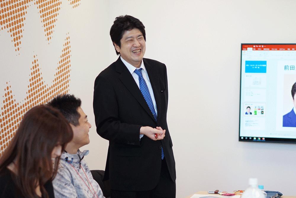 前田康二郎さん×経理担当者ワークショップ