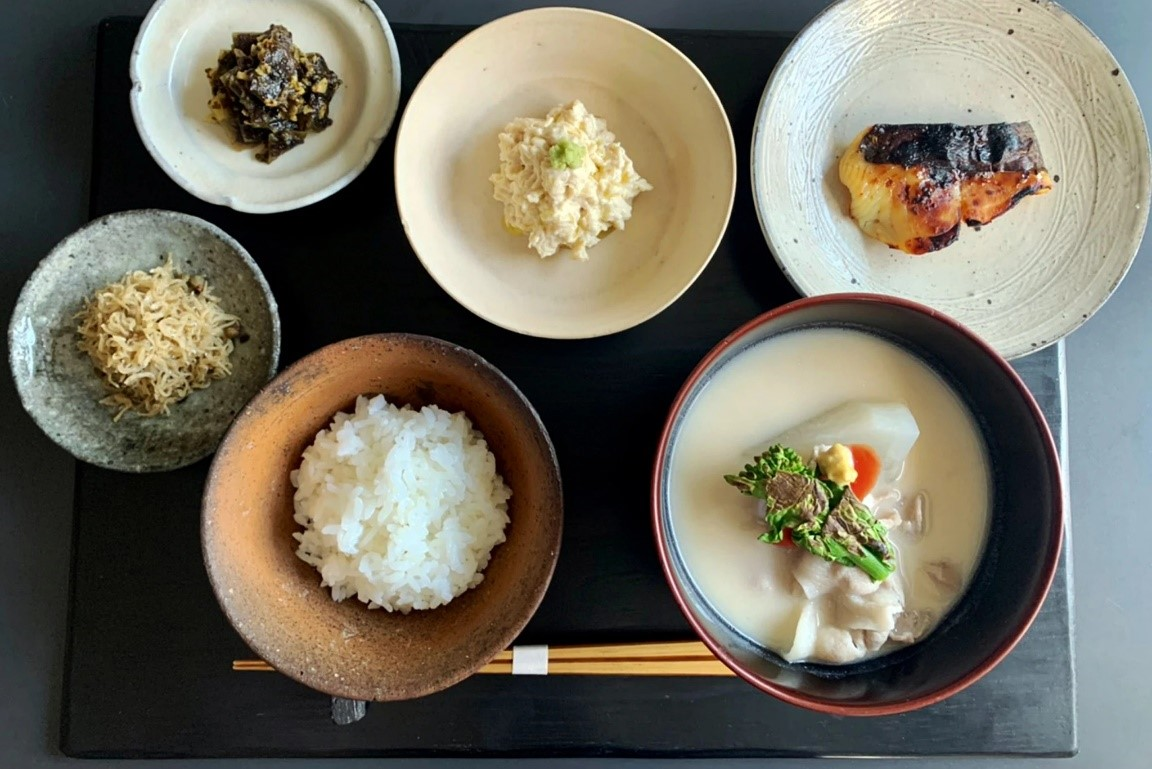 朝食喜心kyoto朝食セット