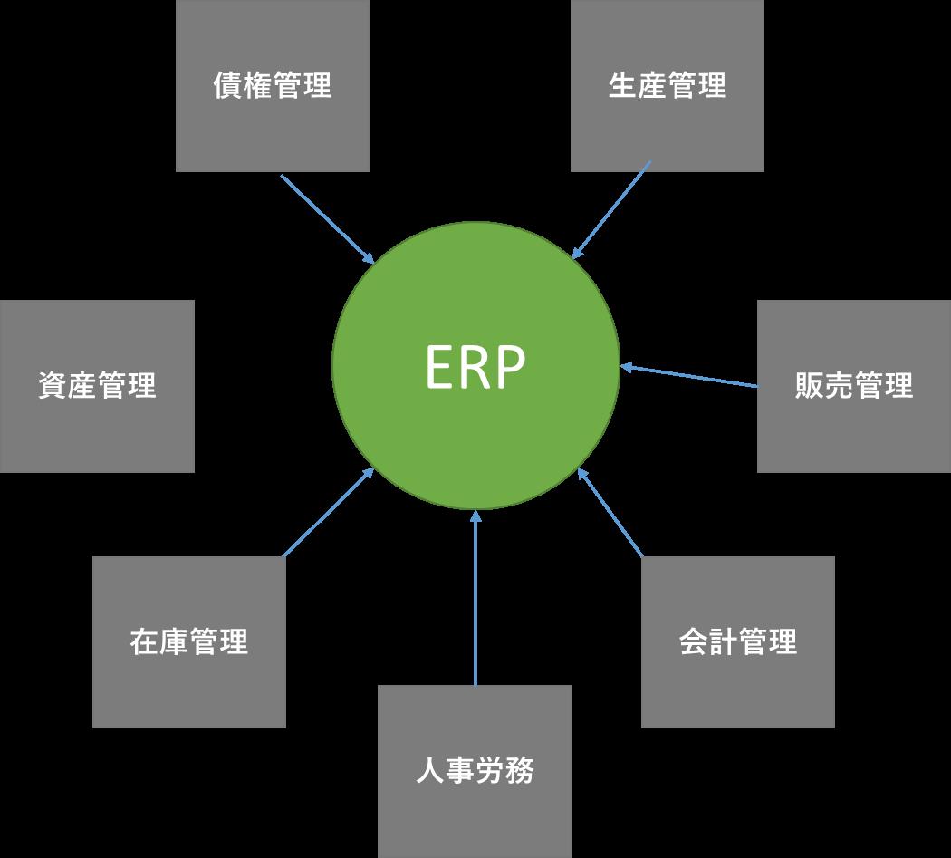 ERPの概念図