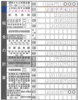 27欄_上の26に対する税額の計算方法