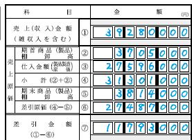 青色申告決算書1-7