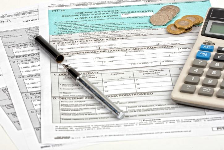 Polish tax return